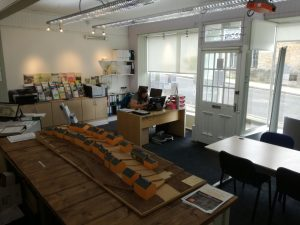 view inside GCDT office