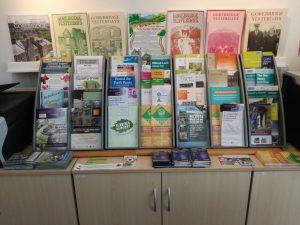 leaflets display