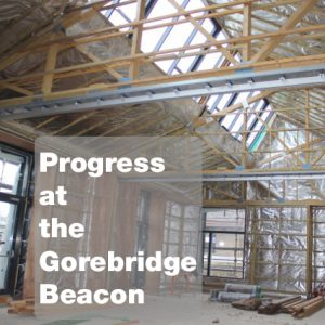 Progress at Gorebridge Beacon