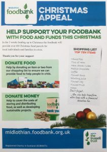 GCDT as Foodbank Collection point November