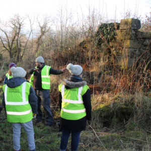 Adopt-A-Monument Dig at Newbyres Castle