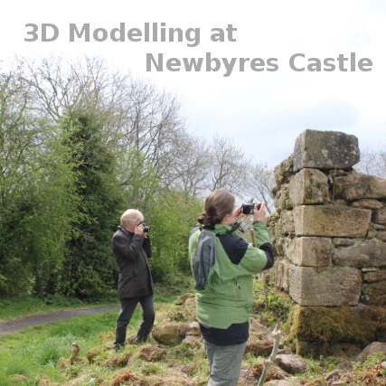 3D archaeological modelling @ Newbyres Castle