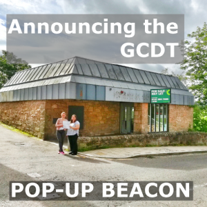 The new pop-up Beacon – coming into shape