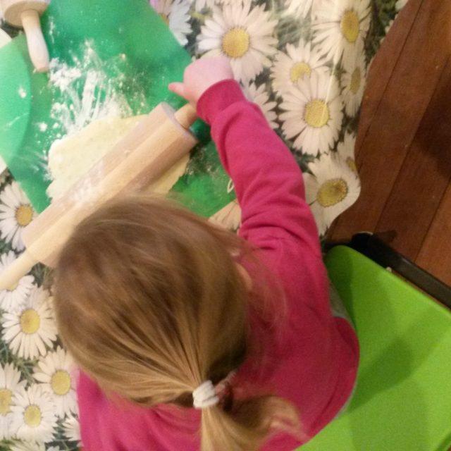 Halloween Tattie Scones at Newbyres Nursery