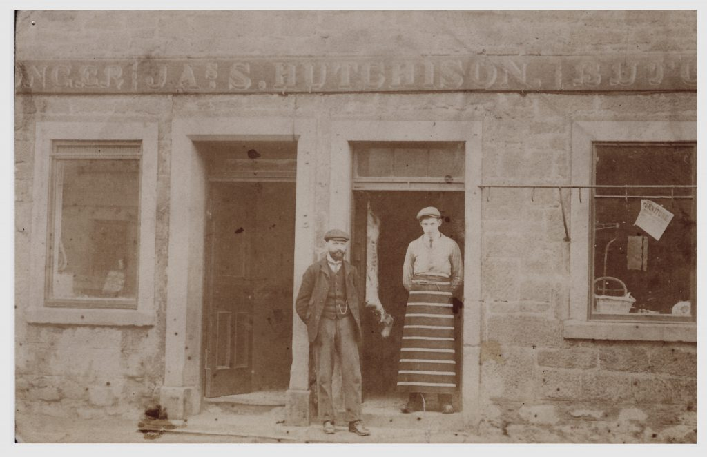 Hutchison's Shopfront and Workers