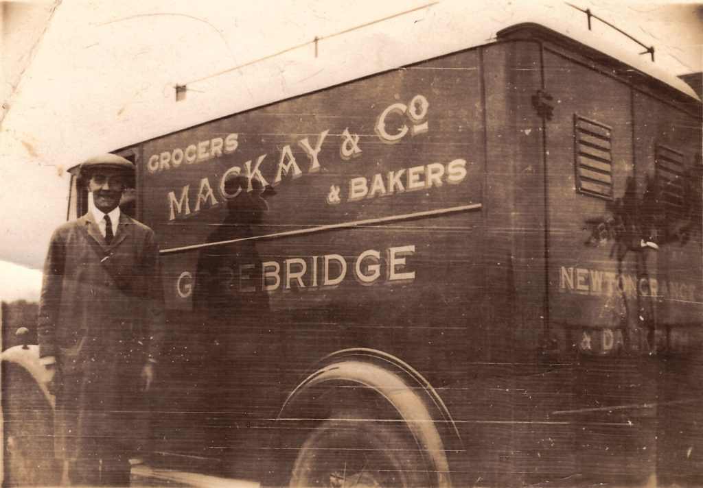 McKay and Co. Deliver Van