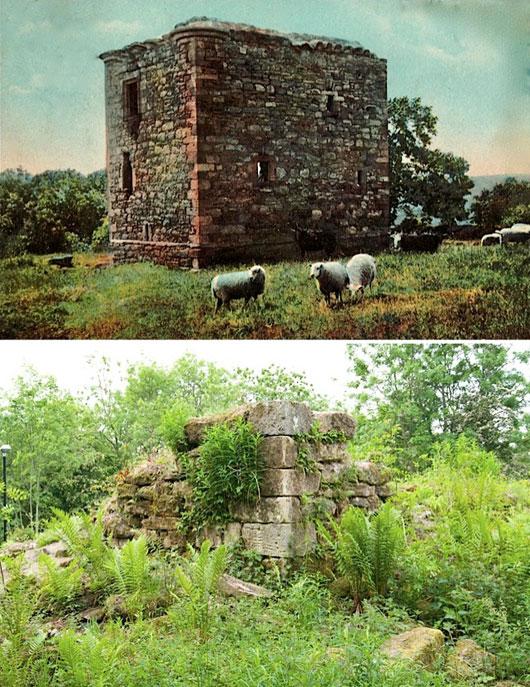 Newbyres_Castle_Mid-Lothian