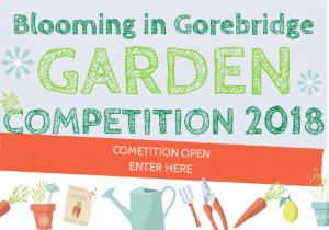 It's Open! Enter Blooming in Gorebridge (Big) Garden Competition 2018