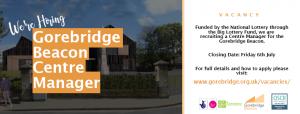 Vacancy: Gorebridge Beacon Manager
