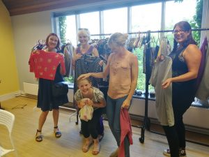 Swapping and Sharing clothes saves money!