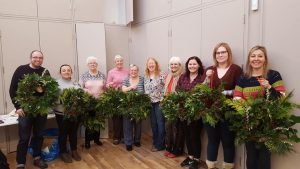 Wreath Making Workshop a Success