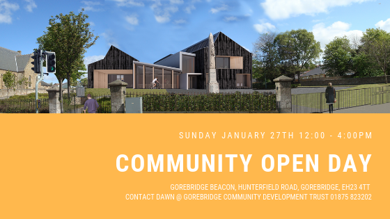 Community Open Day 27th January 2019